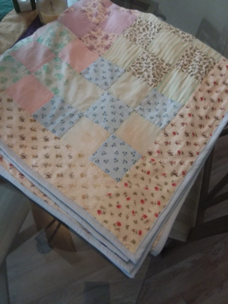 Quilt restore after by Caryl